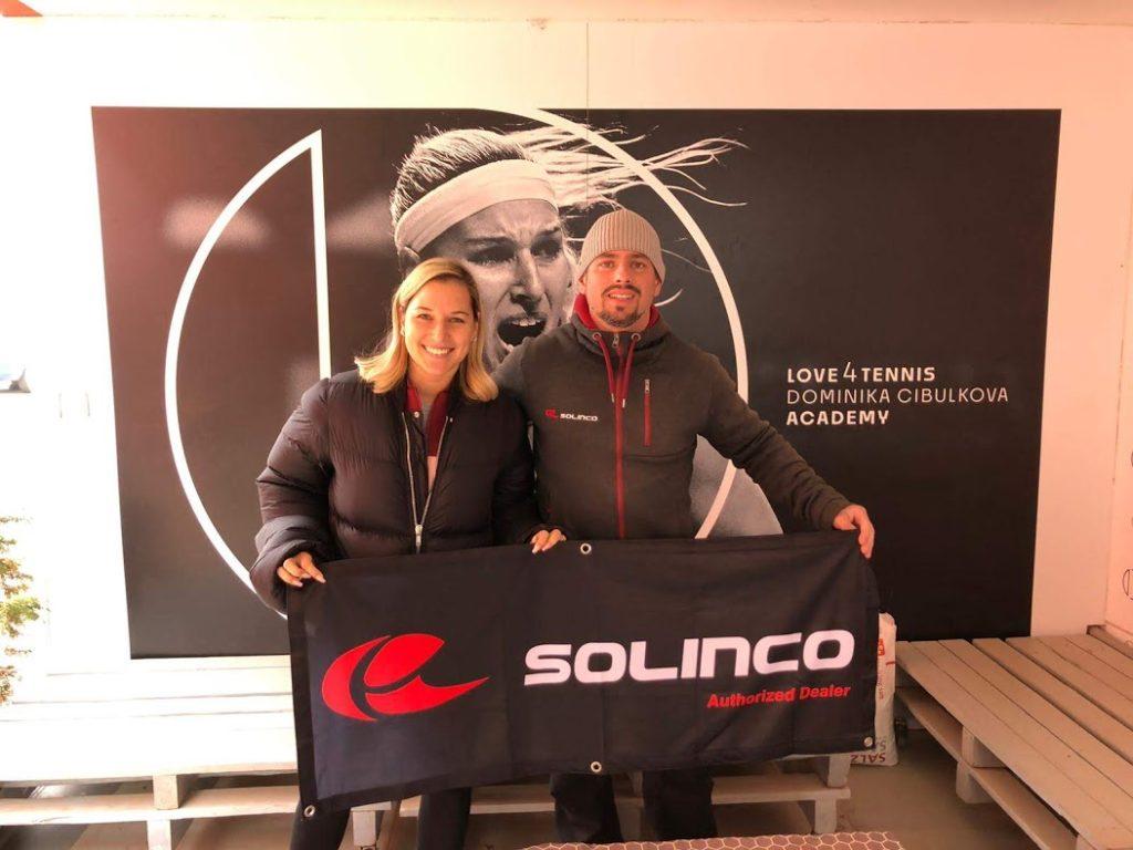 Dominika Cibulkova a Solinco